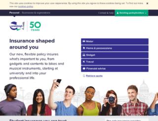 endsleigh-business.co.uk screenshot