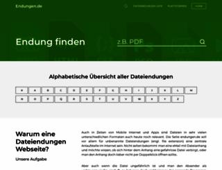 endungen.de screenshot
