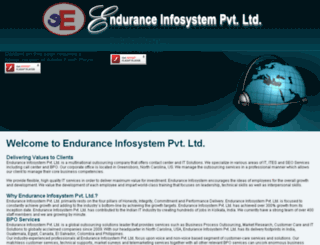 enduranceinfosystem.com screenshot