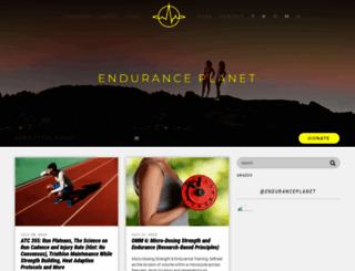 enduranceplanet.com screenshot