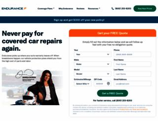 endurancewarranty.com screenshot