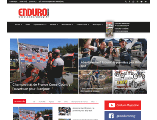 enduro-magazine.fr screenshot