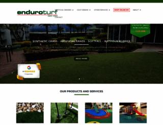 enduroturf.com.au screenshot