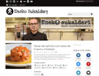 enekosukaldari.com screenshot