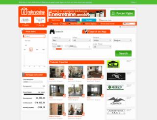 enekretnine.com screenshot