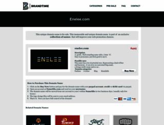 enelee.com screenshot