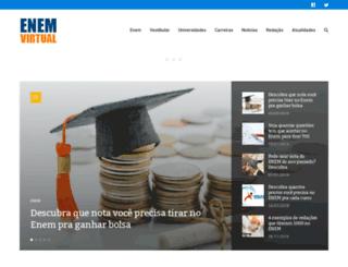 enemvirtual.com.br screenshot
