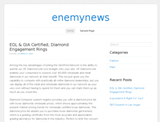 enemynews.com screenshot