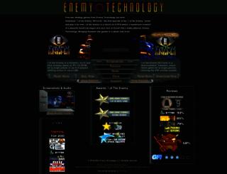 enemytechnology.com screenshot