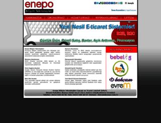 enepo.com.tr screenshot