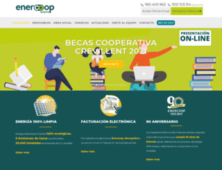 enercoop.es screenshot