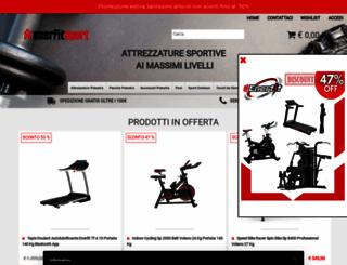 enerfitsport.it screenshot