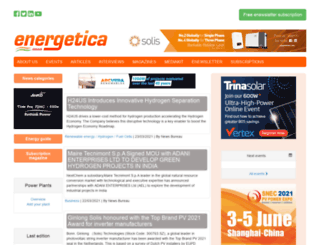 energetica-india.com screenshot