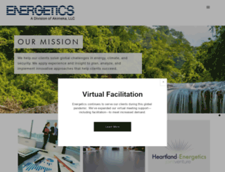 energetics.com screenshot