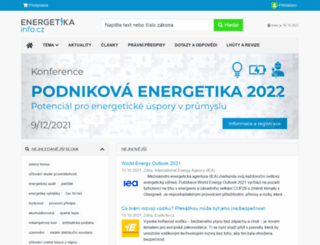energetikainfo.cz screenshot