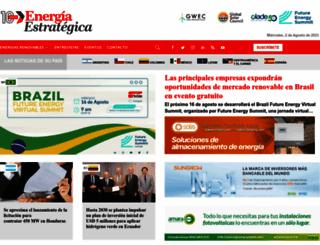 energiaestrategica.com screenshot