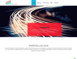 energialuzleds.com screenshot