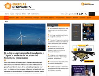 energias-renovables.com screenshot