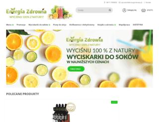 energiazdrowia.pl screenshot