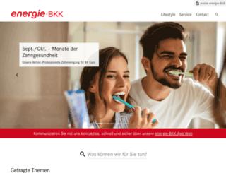 energie-bkk.de screenshot
