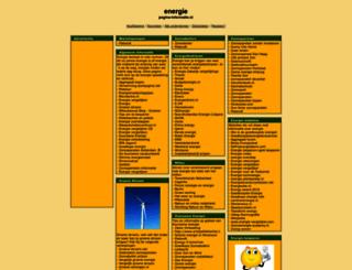 energie.pagina-informatie.nl screenshot