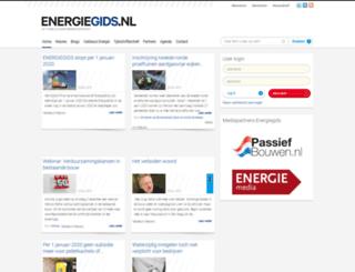 energiegids.nl screenshot