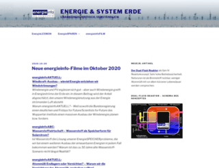 energieinfo.de screenshot