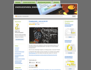 energiepass.wordpress.com screenshot