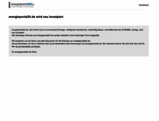 energieportal24.de screenshot
