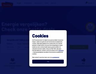 energieprijzenvergelijken.com screenshot