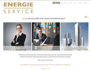 energieservice.at screenshot