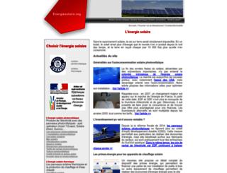 energiesolaire.org screenshot
