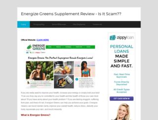 energizegreenssupplementreview.com screenshot