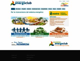 energoclub.it screenshot
