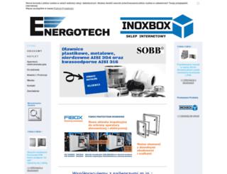 energotech.pl screenshot