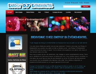 energy-dj-evenementiel.com screenshot