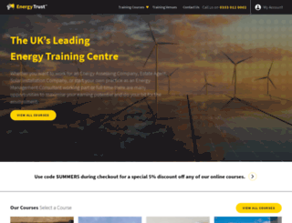 energy-trust.co.uk screenshot