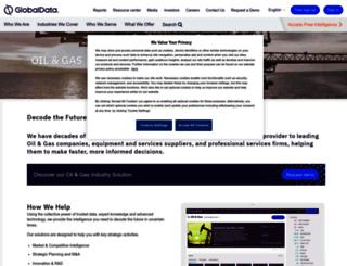 energy.globaldata.com screenshot