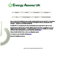 energyassessuk.com screenshot