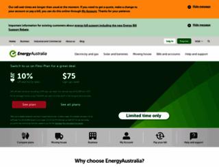 energyaustralia.com.au screenshot