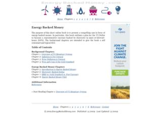 energybackedmoney.com screenshot