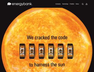 energybankinc.com screenshot