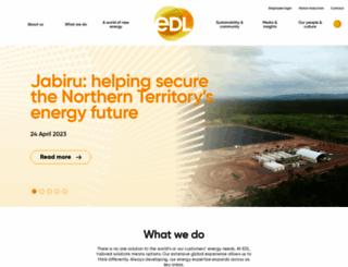 energydevelopments.com.au screenshot