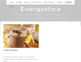 energyetica.it screenshot