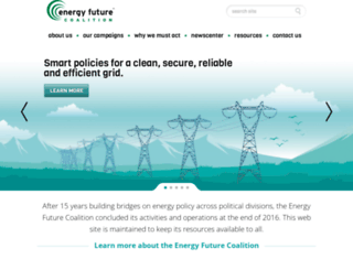energyfuturecoalition.org screenshot