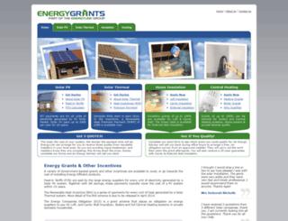 energygrants.co.uk screenshot
