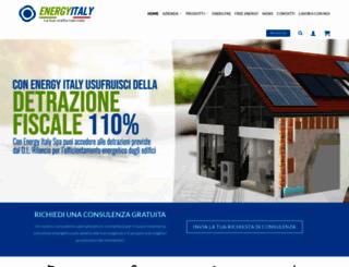 energyitalyspa.it screenshot