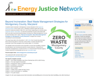 energyjustice.net screenshot