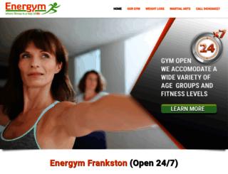 energym.com.au screenshot