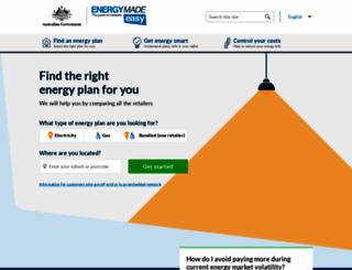 energymadeeasy.gov.au screenshot